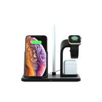 Buy cheap Stand Charging 10W 8.3cm Battery Bank Wireless Charger from wholesalers