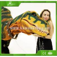 Buy cheap KAWAH Amusement Attractive Adult Lifelike Dinosaur Suit For shopping mall from wholesalers