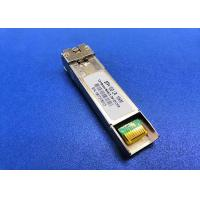 Buy cheap Professional 10G SFP Module 1330nm DFB Laser RX1270nm LC 10KM Bi Directional from wholesalers