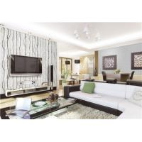 Buy cheap 0.7m width high quality fireproof,waterproof and mould proof PVC vinyl wallpaper from wholesalers