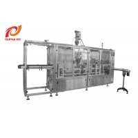 Buy cheap Spice Powder Four Lanes Filling Sealing Machine/ Tea / Coffee Filling Machine from wholesalers