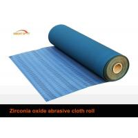 Buy cheap 80 Grit Sandpaper Roll , Aluminium Oxide Abrasive Paper Rolls With Cotton Cloth Backing from wholesalers
