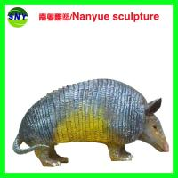Buy cheap life size artificial statue   pangolin model  doll as decoration statue in garden park from wholesalers