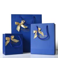Buy cheap Promotional Personalized Paper Gift Bags , Paper Shopping Bag With Handles from wholesalers