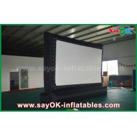 Buy cheap Outdoor Giant  Inflatable Movie Screen Customized for Advertising / Amusement from wholesalers