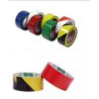 Buy cheap industrial PVC / PE Floor Detectable warning tape of black - yellow 18m/25m from wholesalers