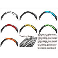 Buy cheap 30mm high clincher used 25mm wide full carbon wheels 29er MTB wheels, Disc Brake mountain wheelset from wholesalers