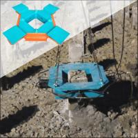 Buy cheap Cutting concrete pile head machine BYP500S Concrete foundation pile Hydraulic pile breaker from wholesalers