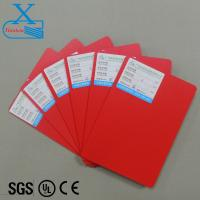 China Color pvc sheet 3mm forex board water proof hard board in red color hot sale colorful Christmas decoration board on sale