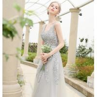 Buy cheap Elegant court train Appliques sash wedding dress / sleeveless wedding bridal gowns LXHS-1175 from wholesalers
