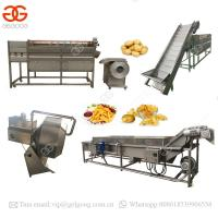 Buy cheap High Quality Plants Automatic Sweet Frozen French Fries Making Producing Line Potato Chips Making Machine Price from wholesalers