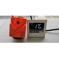 Buy cheap Fireproof Modbus Fan Coil Unit Thermostat With NTC Sensor from wholesalers