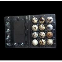 Buy cheap Disposable plastic quail egg tray 12 holes quail egg tray plastic egg tray for product