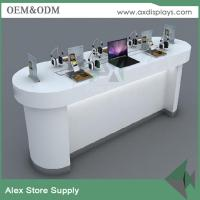 Buy cheap China supplier computer retail display table design experience table for laptop shop from wholesalers
