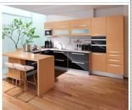 Buy cheap Particle Board Melamine and Acrylic  Kitchen Cabinet from wholesalers