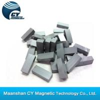 Buy cheap ferrite block magnet (magnetized through thickness) from wholesalers