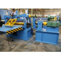 Buy cheap Optional Color Steel Coil Slitting Line , Sheet Metal Slitter Machine from wholesalers