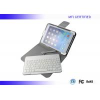 Buy cheap White Black Durable IPAD Air Wired Keyboard MFI Test With Leather Case product