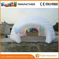 Buy cheap Customized Inflatable Party Tent Portable Camping Tent Garden Igloo For Outdoor from wholesalers