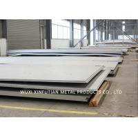 Buy cheap Hairline 304 Stainless Steel Hot Plate , Stainless Sheet Metal For Food Equipment from wholesalers