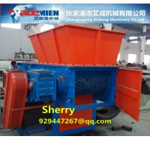 Buy cheap Famous brand PIPE RUBBER single shaft shredder machine PET BOTTLE CRUSHER PE PP film crusher shreeder machinery from wholesalers