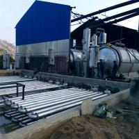 Buy cheap Used Tire Recycling Plants Waste Plastic To Fuel Oil Pyrolysis Machine for sale from wholesalers