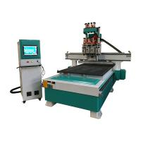 Buy cheap Multi Spindle CNC Router Wood Carving Machine For Furniture Industry from wholesalers