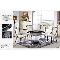 Buy cheap 6 seater marble dining table furniture from wholesalers
