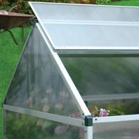 Buy cheap 2012 innovative aluminium cold frame (HX63211), with polycarbonate sheet cover from wholesalers