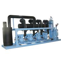 Buy cheap Refcomp Cold Room Refrigeration Unit High Efficiency Screw Compressor Unit from wholesalers