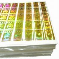 Buy cheap Laser Serial Number Stickers with Dot Matrix from wholesalers