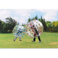 Buy cheap Transparent Human Inflatable Soccer Ball Inflatable Sport Games Funny Bumper Ball from wholesalers
