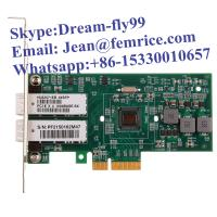 Buy cheap PCIe 1G 2XSFP NIC Card ,Intel82571EB Chip fiber optical dual port gigabit ethernet card from wholesalers