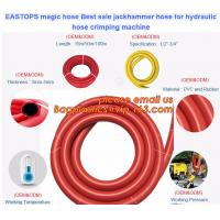 Buy cheap magic hose Best sale jackhammer hose for hydraulic hose crimping machine from wholesalers