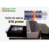 Buy cheap A3 size DTG printer direct to print on garment for cotton fabric with textile ink from wholesalers