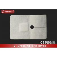 Buy cheap Sterile Waterproof Wound Dressing 100% Cotton Pad Tegaderm Cannula Dressing from wholesalers