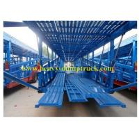 Buy cheap 3 axles suv towing car haulers trailers 3mm or 4mm thickness Floor with warranty from wholesalers