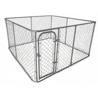 Buy cheap Large outdoor chain link dog kennels & dog cages & dog runs dog fence (manufacture) from wholesalers