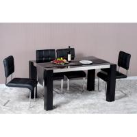 Buy cheap Modern Dining Room Furniture,Wood/Stainless Steel Dining Table,PU Chair from wholesalers
