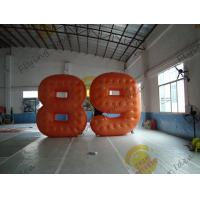 Buy cheap Cold Air Advertising Inflatable Product Replicas / Custom Made PVC Number Balloons from wholesalers