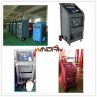 Buy cheap 97% Recovery Rate A/C Refrigerant Recycling Machine with Refill New Oil , Refrigerant Recovery Equipment from wholesalers