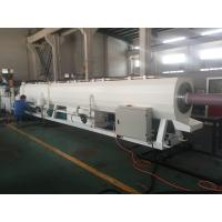 Buy cheap Plastic Pipe Extrusion Line For PVC Pressure Water Pipe 400Kg/H - 600Kg/H MAX Output from wholesalers