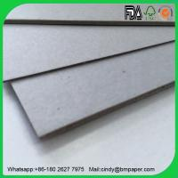 Buy cheap Raw material good price 1mm 1.5mm 2mm 2.5mm 3mm laminated grey chipboard product