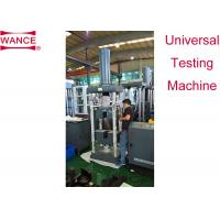 Buy cheap Multi Stranded Wire Tensile Testing Machine 600kN φ6-φ21mm ASTM A370 Standard from wholesalers