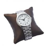 Buy cheap Handmade Jewelry Display Stands Embossing Printed Watch Pillows Cushions In Brown Color from wholesalers