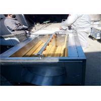 1.5kw Sweet Potato Washing Machine1500 * 820 * 900mm Size For Round Shape Fruit