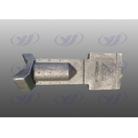 Buy cheap Abrasion Resistant Mixing Blade 3.2μm Concrete Mixer Parts from wholesalers