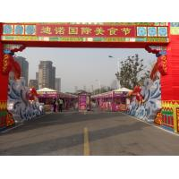 Buy cheap White Waterproof Canvas Tent Aluminum Alloy Material Outdoor for Food Festival from wholesalers