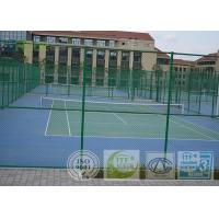 Outdoor Artificial Tennis Playing Surfaces Anti Abrasion Easy To Install