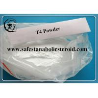 Buy cheap T4 Fat Loss Hormones Levothyroxine Sodium For Burning Fat CAS 25416-65-3 from wholesalers